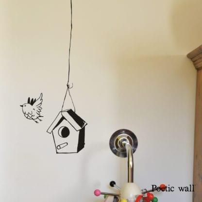 Sticker mural - La mangeoire