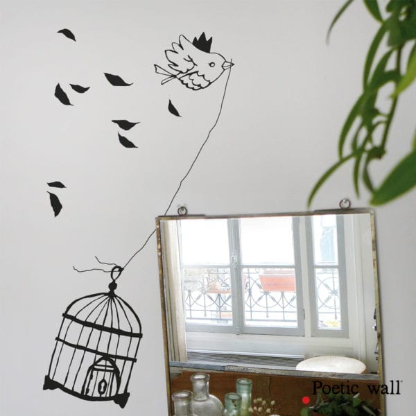 Sticker - Libre - Poetic Wall - Songes - stickers-Poeticwall-libre