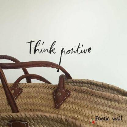 Sticker - Think positive