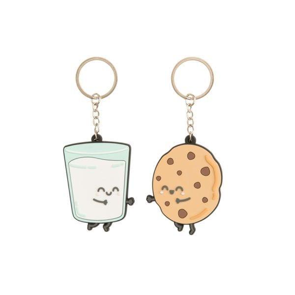 Porte-clés - Lait & Cookie - Mr. Wonderful - Songes - 8435460713320