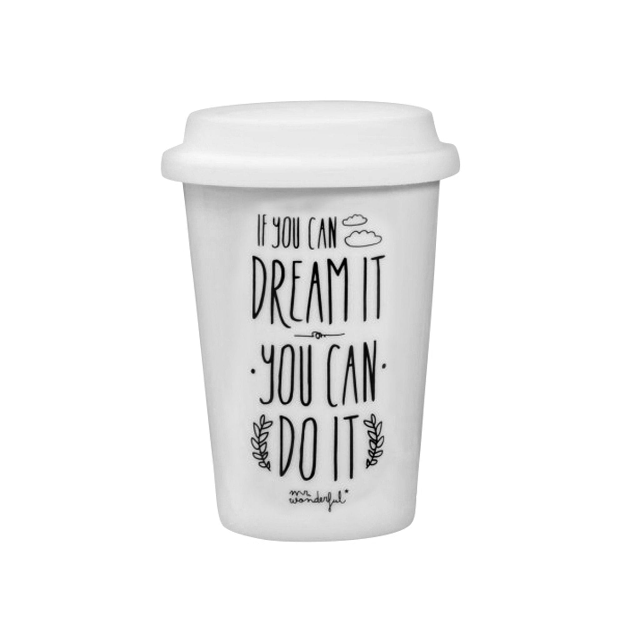 Mug à emporter - Dream it