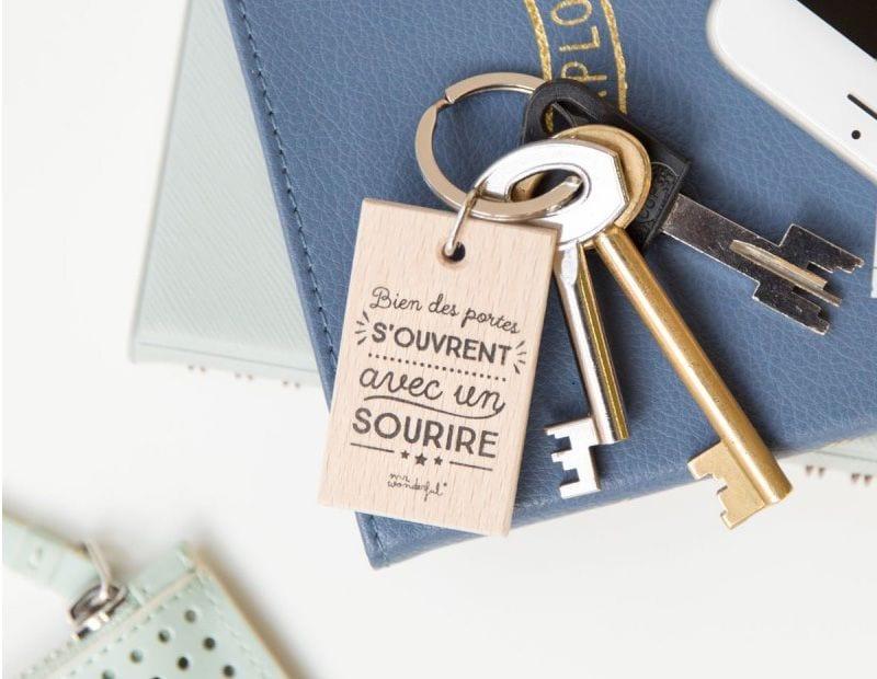 Porte-clés - Sourire