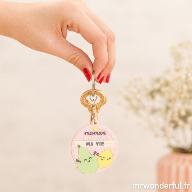 Porte-clés - Maman