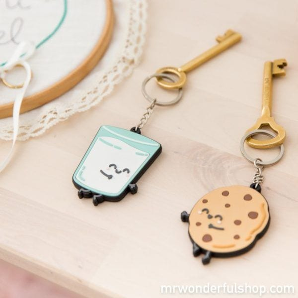 Porte-clés - Lait & Cookie - Mr. Wonderful - Songes - mrwonderful_8435460713351_llavero-boda_keyring_for_sweet_couples-eng-5_1