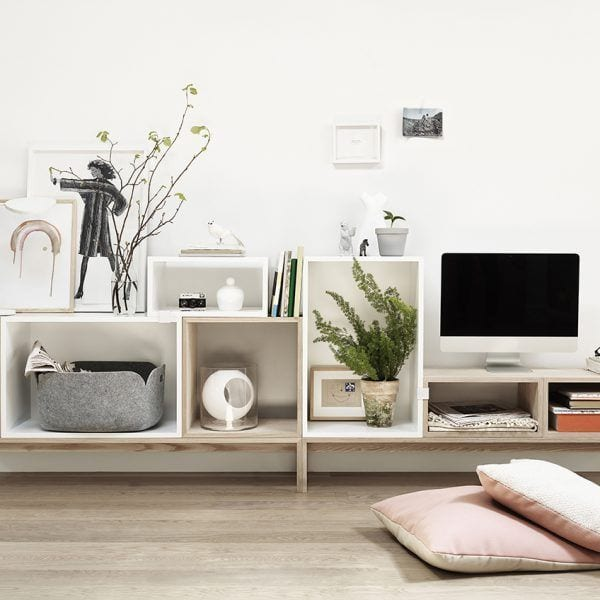 Étagère Stacked - Gris clair - Muuto - Songes - Creativ Boards