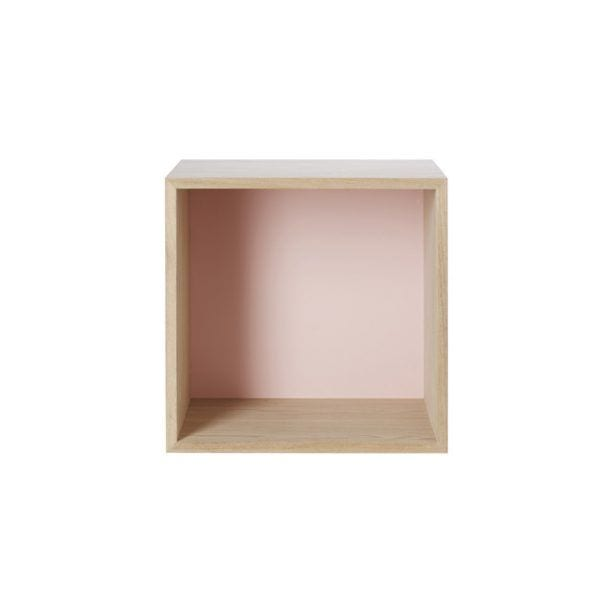Étagère Stacked - Frêne - Muuto - Songes - Stacked_rose
