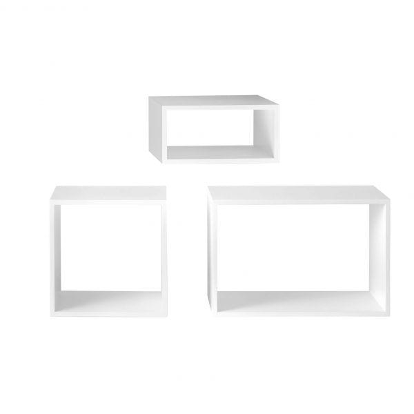 Étagère Stacked - Blanc - Muuto - Songes - Stacked_white01