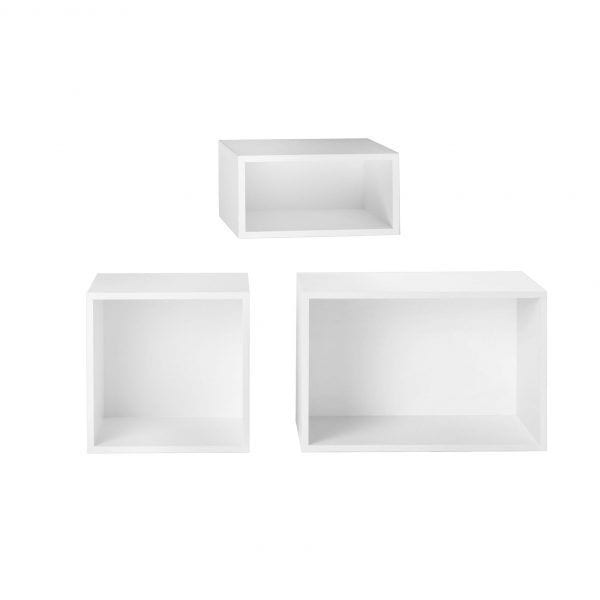 Étagère Stacked - Blanc - Muuto - Songes - Stacked_white02