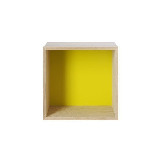 Étagère Stacked - Frêne - Muuto - Songes - Stacked_yellow