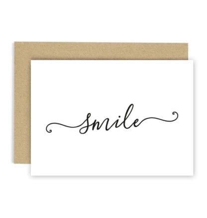 Carte de voeux - Smile
