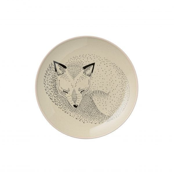 Assiette Adelynn - Renard - Bloomingville - Songes - 21100578-b