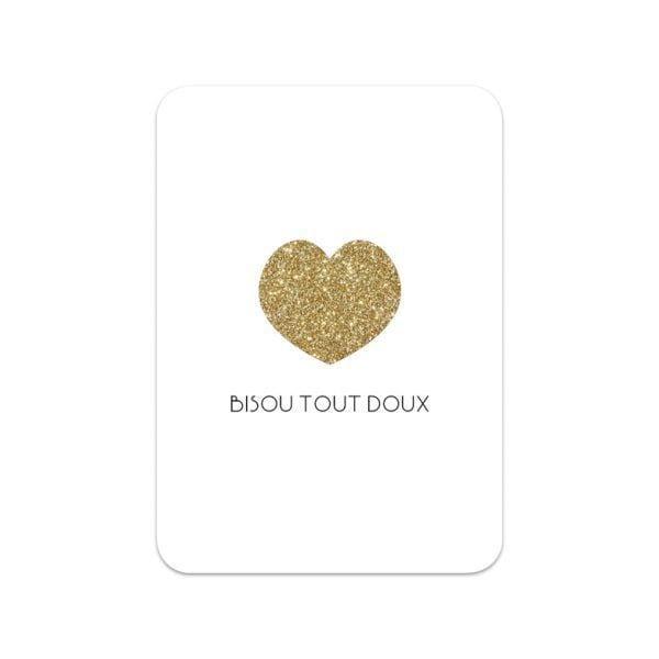 Carte de voeux - Bisou tout doux - Songes - Songes - carte-bisou-doux