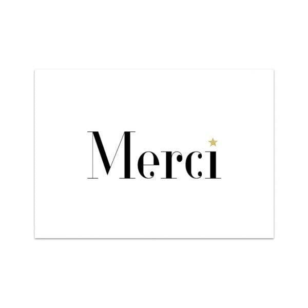 Carte de voeux - Merci - Songes - Songes - carte-merci