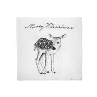 Serviettes - Merry Christmas