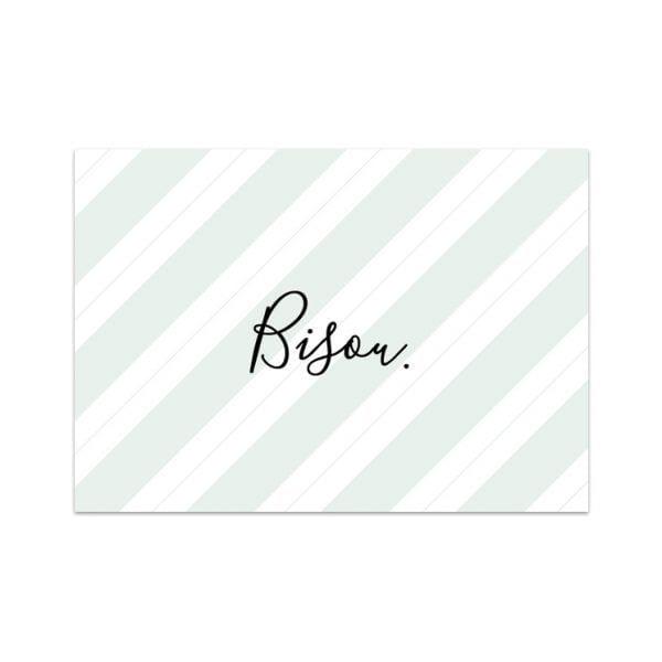 Carte de voeux - Bisou - Songes - Songes - carte-bisou