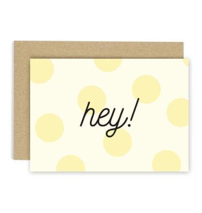 Carte de voeux - Hey!