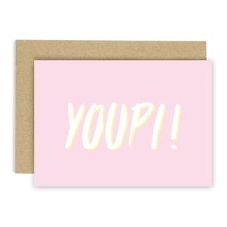 Carte de voeux - Youpi