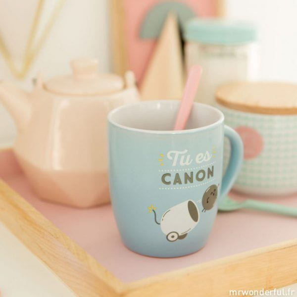 Mug - Tu es canon - Mr. Wonderful - Songes - mrwonderful_8435460709453_woa03785fr_tu-es-canon-fr-4