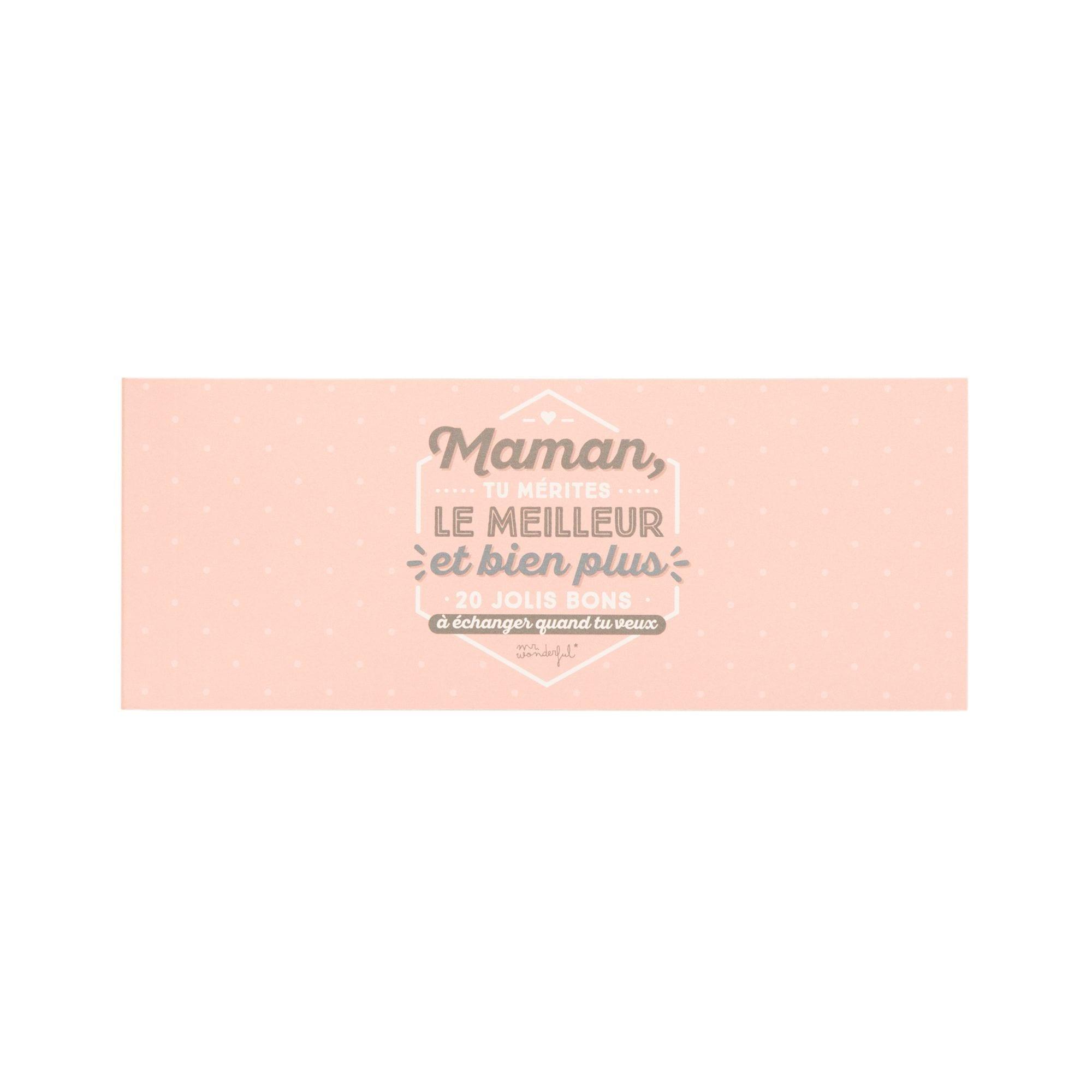 Chéquier - Maman