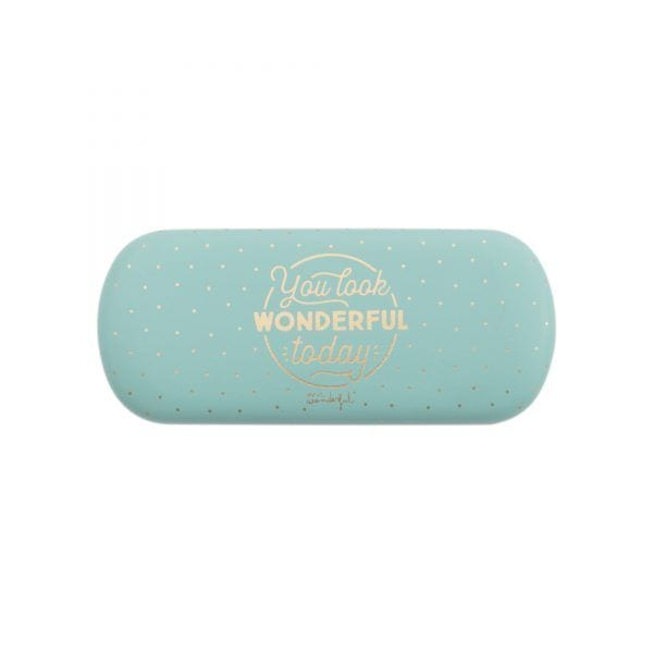 Étui à lunettes - Wonderful - Mr. Wonderful - Songes - mrwonderful_8435460717120_funda_gafas-You-look-wonderful-today-FR-3