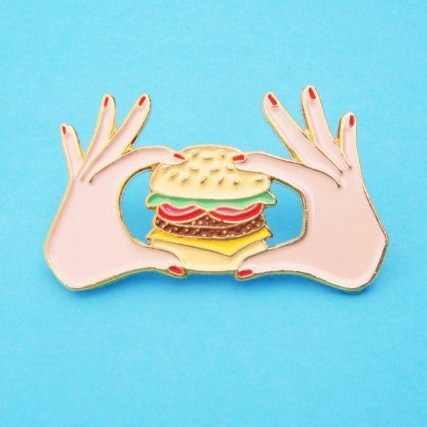 Pin's - Burger - Coucou Suzette - Songes - pins-burger02
