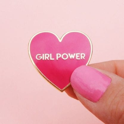 Pin's - Girl power
