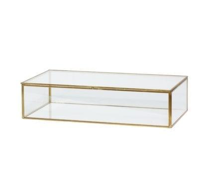 Boîte en verre M