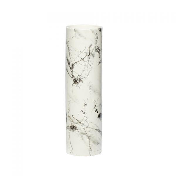 Vase - Motif marbre L - Hübsch - Songes - 250213