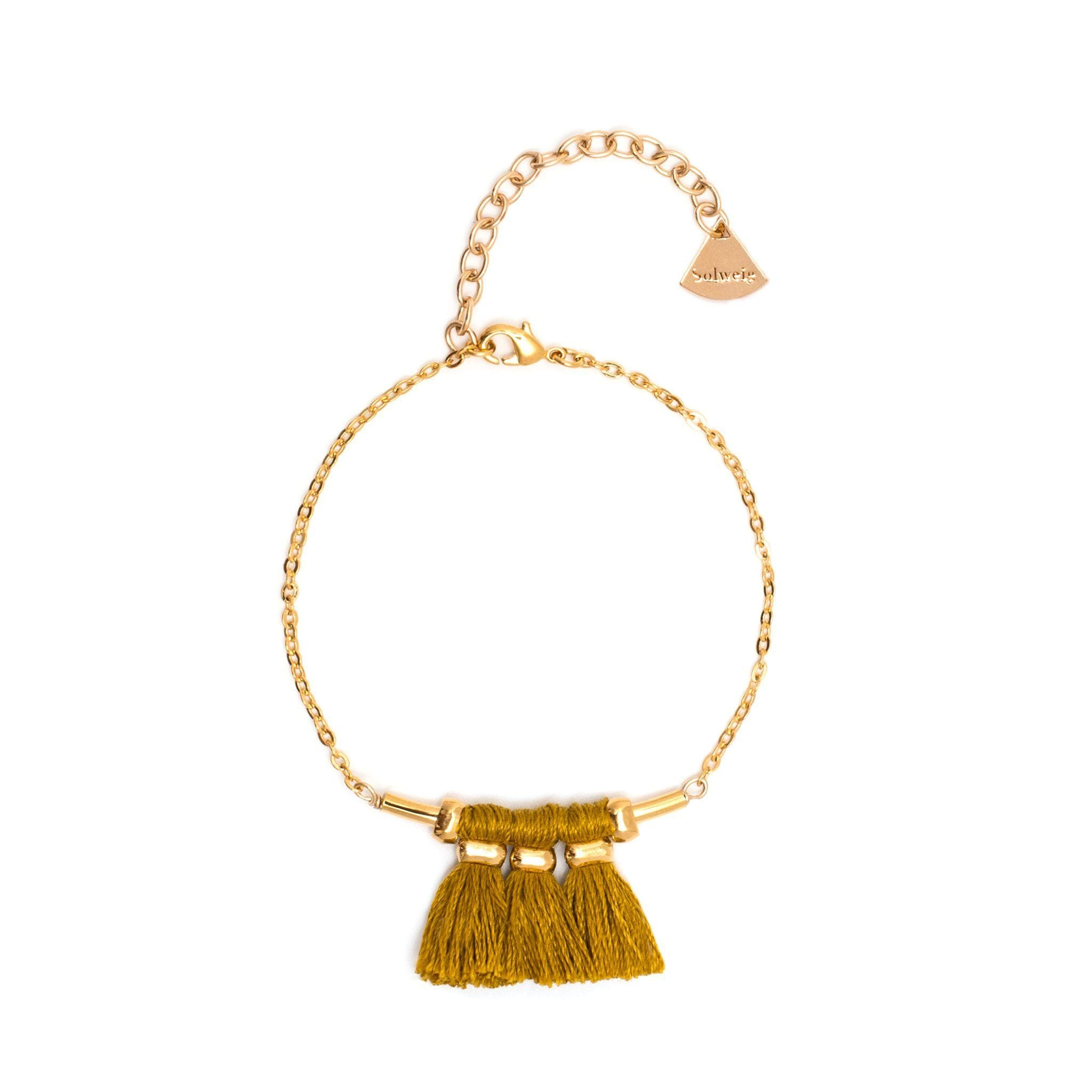 Bracelet Mira - Safran