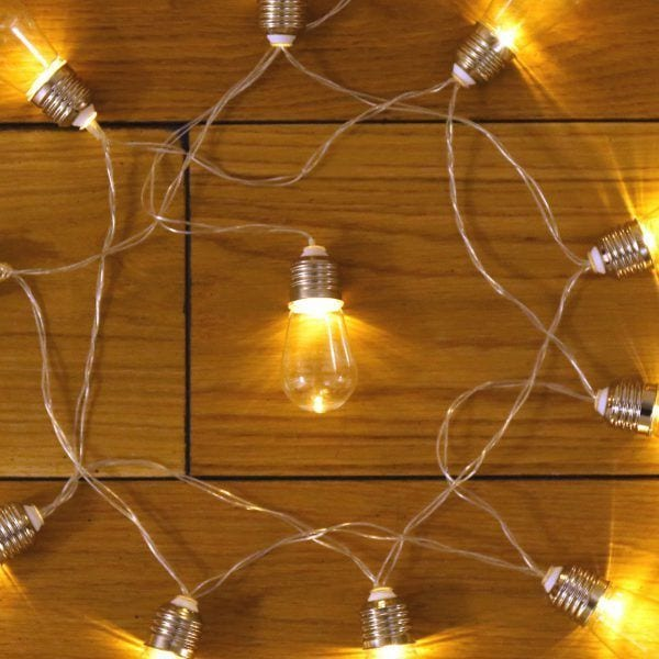 Guirlande lumineuse - Ampoules - Kikkerland - Songes - guirlande-kikkerland02