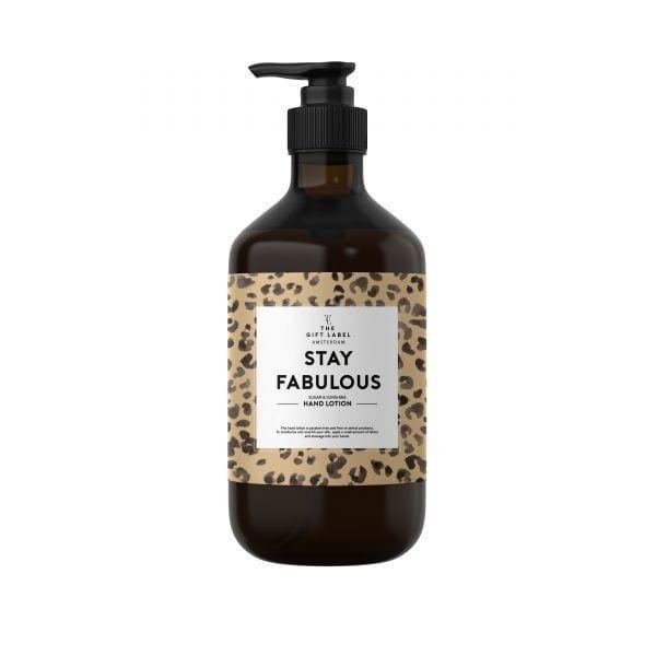 Crème pour les mains - Fabulous - The Gift Label - Songes - handlotion-stay-fabulous