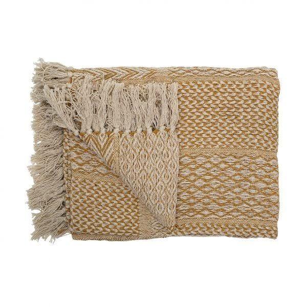 Plaid en coton - Bloomingville - Songes - 14208834