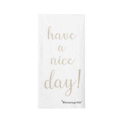 Serviettes - Nice day