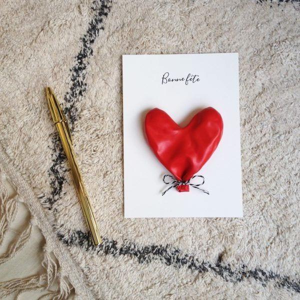 Carte de voeux - Ballon - Songes - Songes - carte-bonne-fete-ballon02