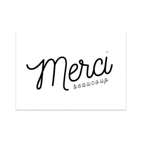 Carte de voeux - Merci - Songes - Songes - carte-merci-beaucoup