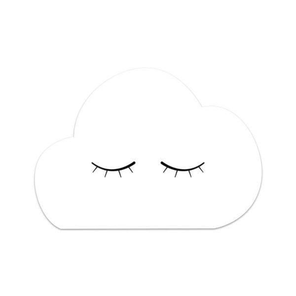 Carte de voeux - Nuage - Songes - Songes - carte_nuage-yeux