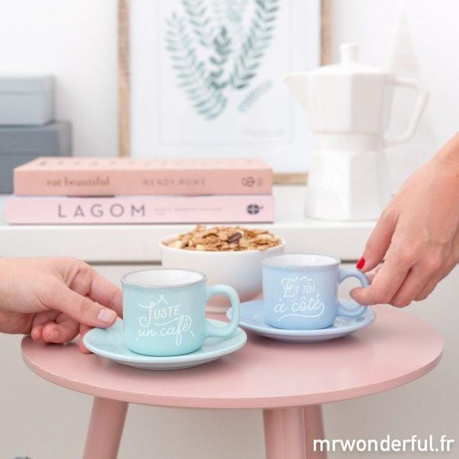 Tasses espresso (set de 2)