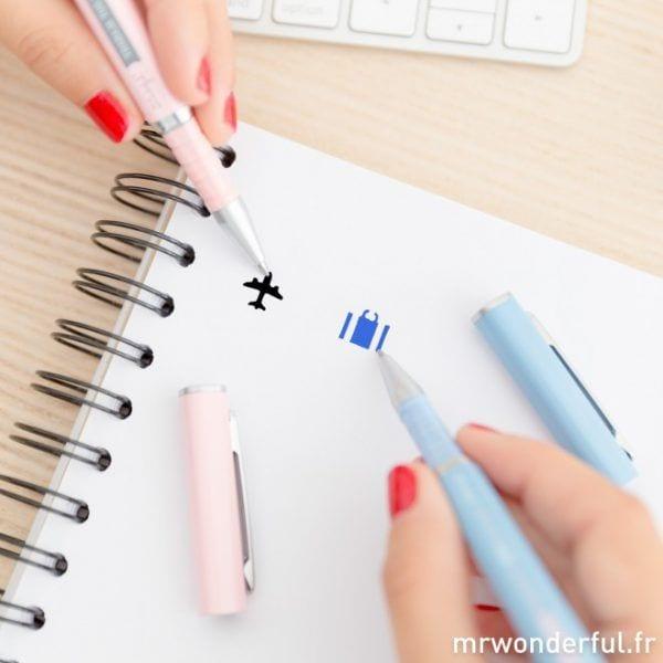Set de 2 stylos - Mr. Wonderful - Songes - stylos-2pcs-05