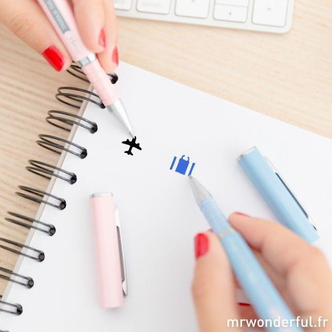 Set de 2 stylos