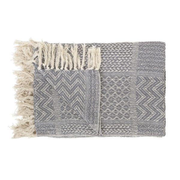 Plaid en coton - Bloomingville - Songes - 14200731