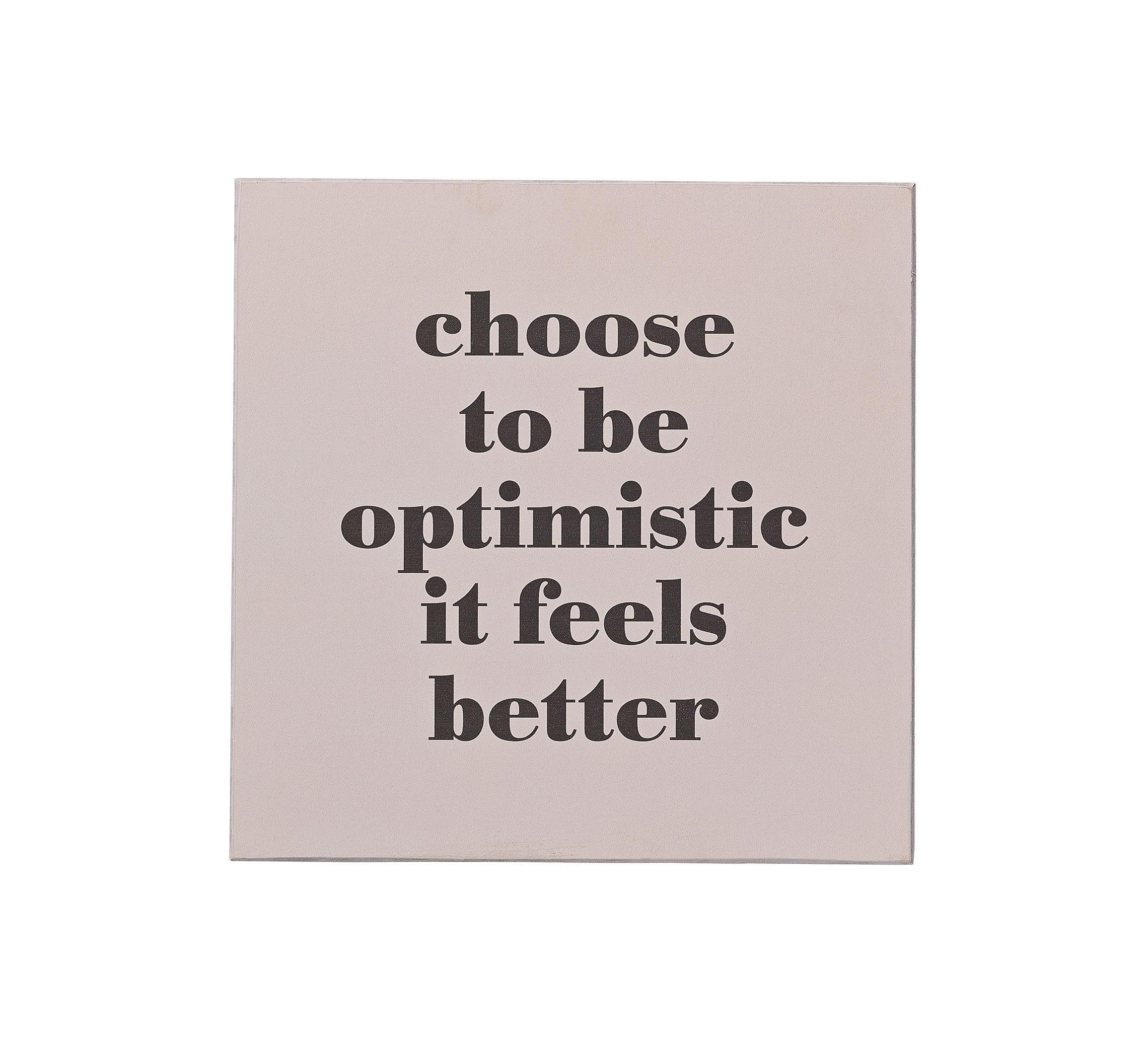 Tableau - Optimistic