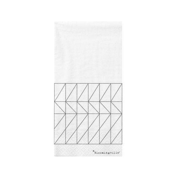 Serviettes - Graphique - Bloomingville - Songes - 31000090