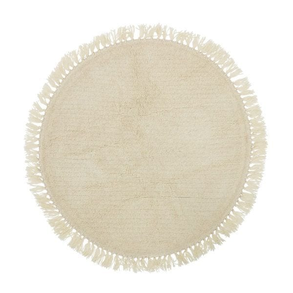 Tapis rond - Laine - Bloomingville - Songes - 32708249_high