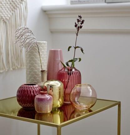 Vase rond - Rose