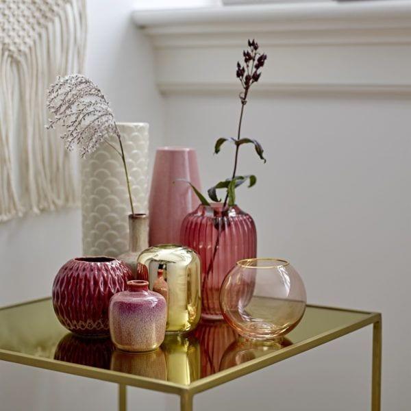 Vase rond - Rose - Bloomingville - Songes - BV_18SS_33_high