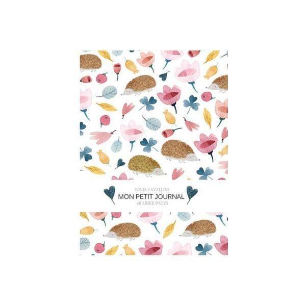 Carnet - Hérisson - Sonia Cavallini - Songes - NB0023