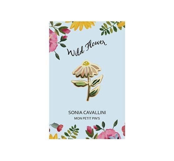 Pin's - Fleur - Sonia Cavallini - Songes - PINSFLEUR_01