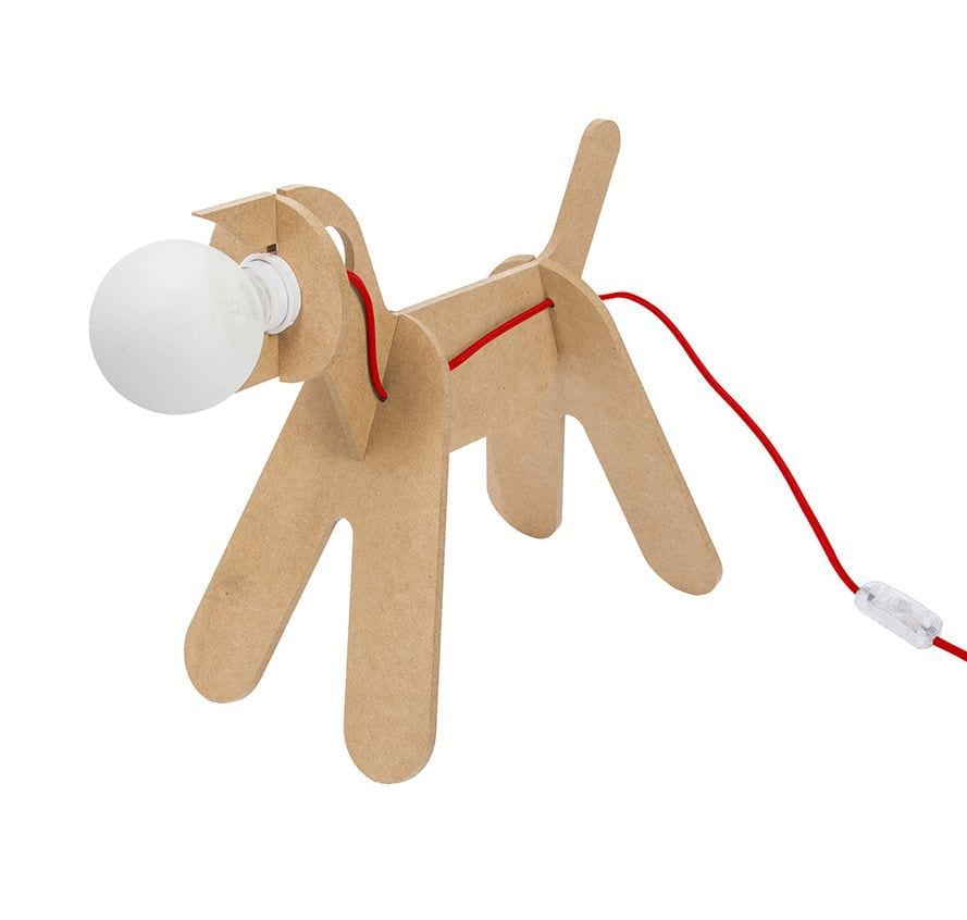 Lampe - Get out dog