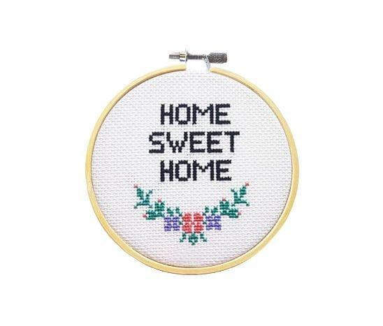 Kit à broder - Sweet home