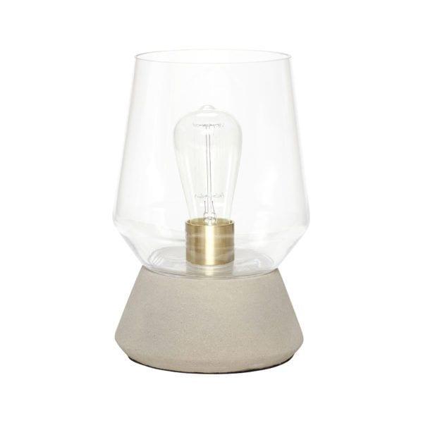 Lampe - Verre/Béton - Hübsch - Songes - 370228